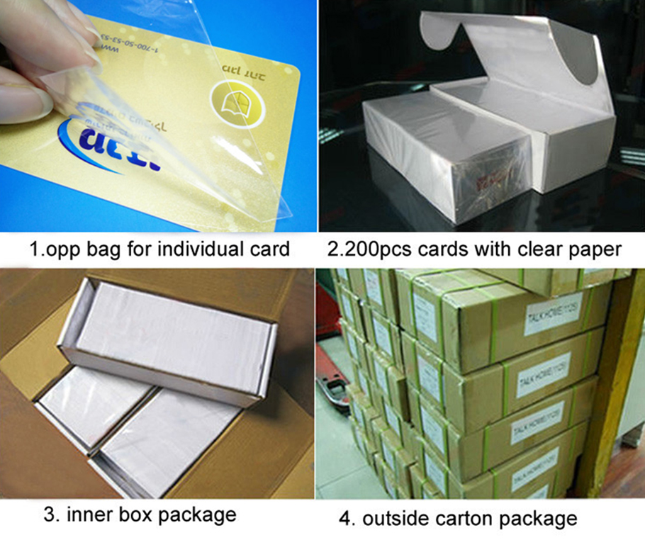 ISO14443A NFC Cards 13.56MHZ 144bytes Chip 213 ISO NFC Badge Card Printed