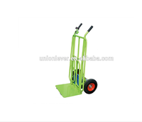 wholesale China trade extra width bigfoot foldable platform hand trolley truck