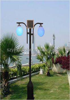 50W Solar LED Garden Lighting Pole Light