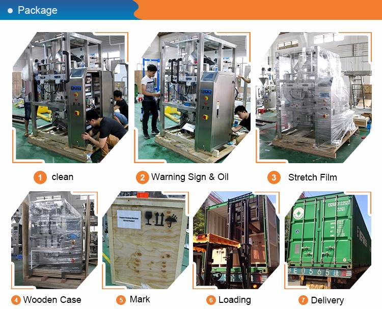 Easy installation Snack foods pillow automatic packing machine with competitive price