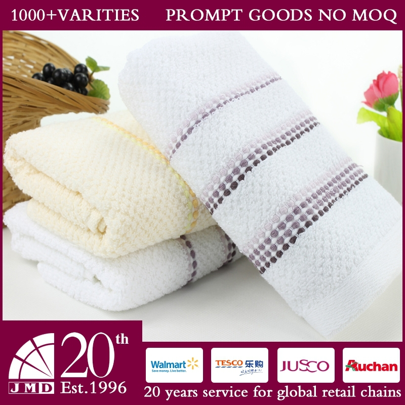 2015 New Design Nice Dobby Soft And Absorbent 30*100cm Outdoor White Sport Towels Wholesale