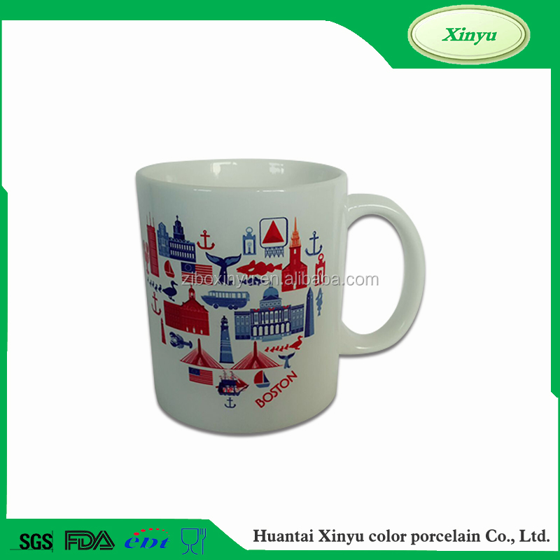 Excellent Quality Heart Shape Ceramic Coffee Cup
