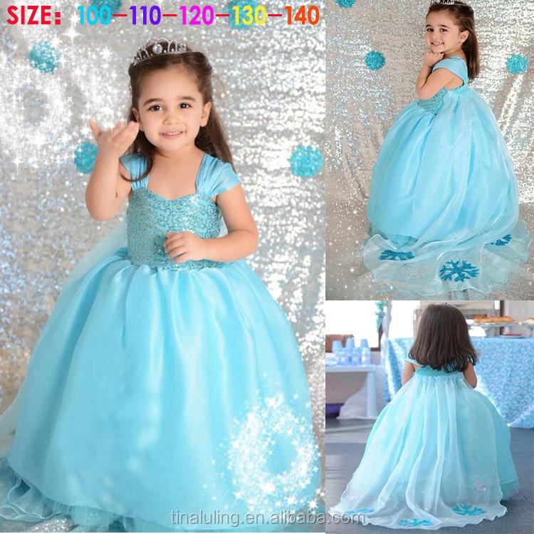 Blue Wedding Dresses For Kids - Unique Wedding Ideas