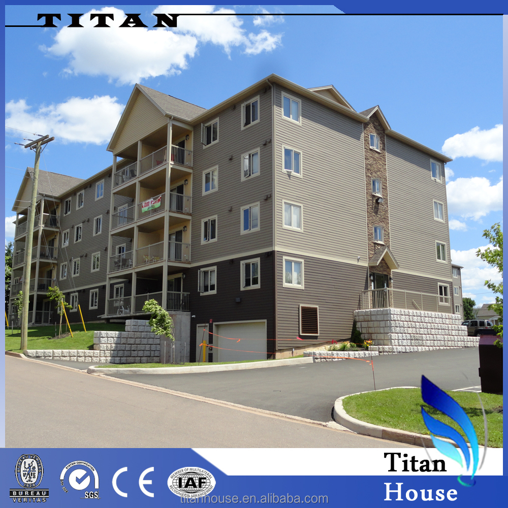 Pre Engineered Light Steel Modular Apartment Buildings of Quality ...