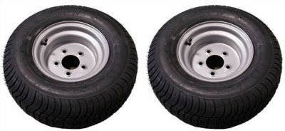 20.5 X 8-10 (205/65-10) Triton 07355 Class E Snowmobile/ATV/Pontoon Trailer Tires - Pair