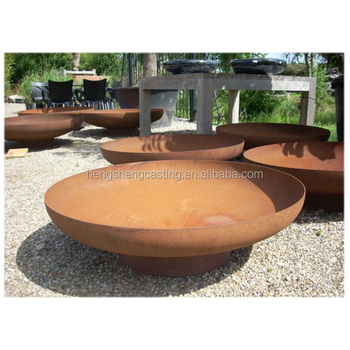 Outdoor Steel Fire Pit / Steel Fire Bowl / Garden Fire Bowl