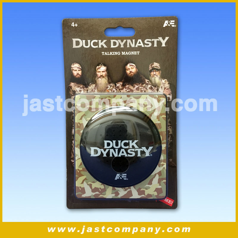 Duck Dynasty Talking Plastic Magnet, Duck Dynasty Musical Plastic Magnet