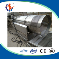 seasoning machine/Factory price offered drum type sainless steel spices mixing machine