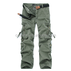 Latest Design Wholesale Bleach Resistant Cargo Work Pants, Mens Outdoor Army Baggy Trousers Pants