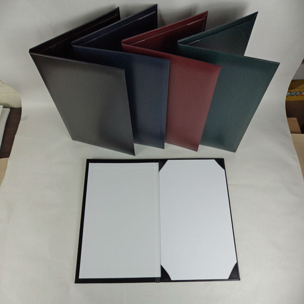 A4 Faux Leather Certificate Holder Diploma Cover - Buy Leather Album ...