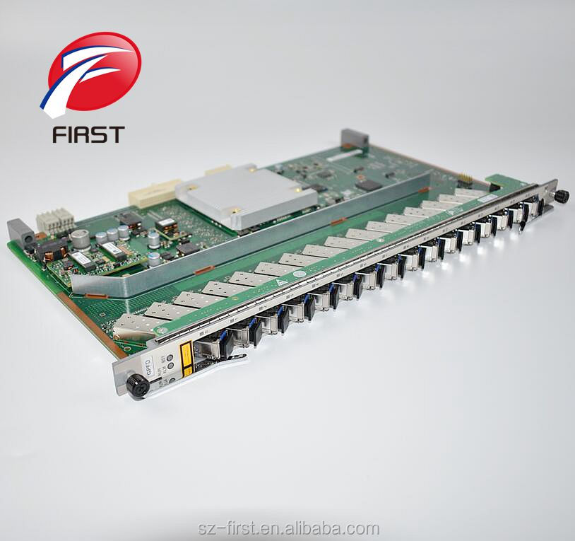 Ma5608t Olt Ma5683t Original Hua Wei 16 Ports Gpon Board With 16 Pcs Gpfd Class C Sfp Modules For Ma5680t