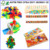 2016 New Design Colorful Wooden Intelligent Toys Popular Funny Baby Educational Toy for Kids