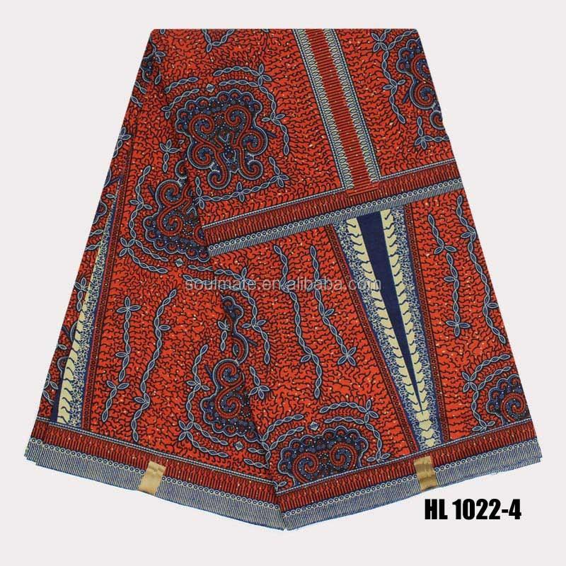 Hl 1022 3 Multi Color London Digital Cotton Super Wax Java Print