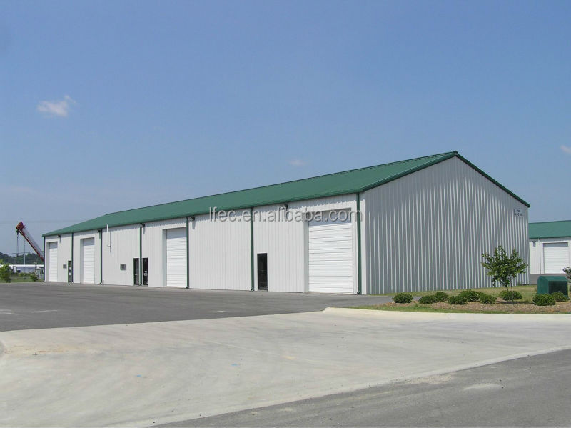 Low cost enviromental friendly used industrial shed