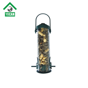 Contemporary Plastic Tube Bird Feeders Station For Sale