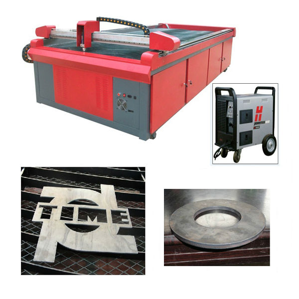 gantry cnc plasma cutting machine used in all kinds of carbon materials