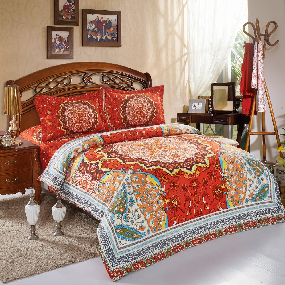 Nantong Good Quality Polyester Unique Bed Sheet Bedding