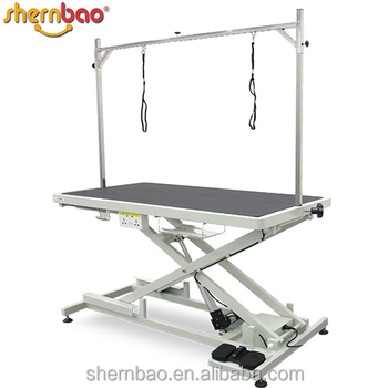 Shernbao FT-808P Professional Low-low Electric Pet Dog Grooming Table Pro.