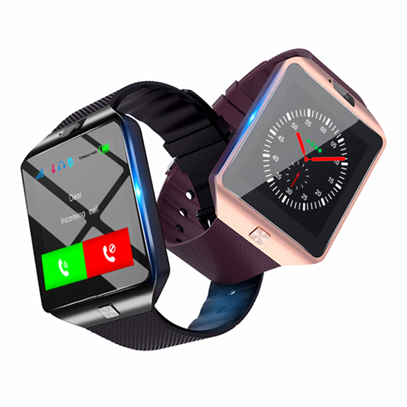 2019 amazon venda quente sem fio banda inteligente dz09 reloj inteligente bluetooth smart watch