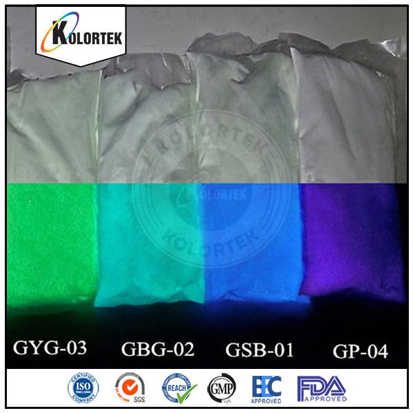 Phosphorescent Powder Glow In Dark,Glow Spray Paint Pigment China ...