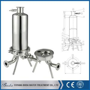 High quality hollow fiber uf membrane, multi-cavity bag housing, ceramic candle filter housing