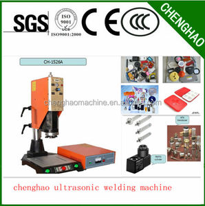Chenghao factory original Ultrasonic Plastic Welding Machine for toys nylon strap
