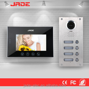 7inch Handfree Color Screen Video Doorbell / Smart Security System , Video Door Phone use for villa ,home,office ,hotel