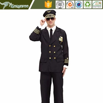 Ku005 Custom Air Force Airline Pilot Dress Uniform Overcoat Buy