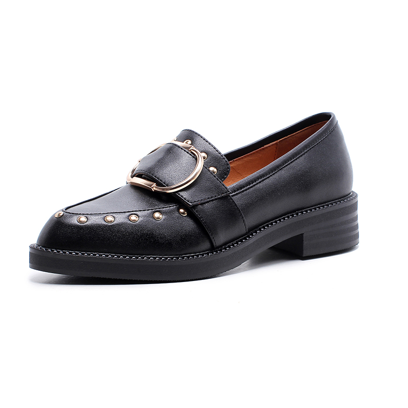 loafers flat casual sole thick British shoes shoes style xawYHH