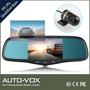Full HD GPS Rear View Mirror With Bluetooth