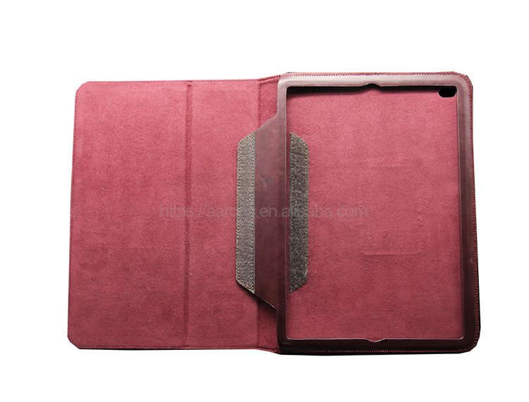 New product hot selling complete protect devices luxury genuine cow leather tablet case for iPad air 2