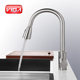 Customized 3 way kitchen sink faucet stainless steel pull down kitchen faucet