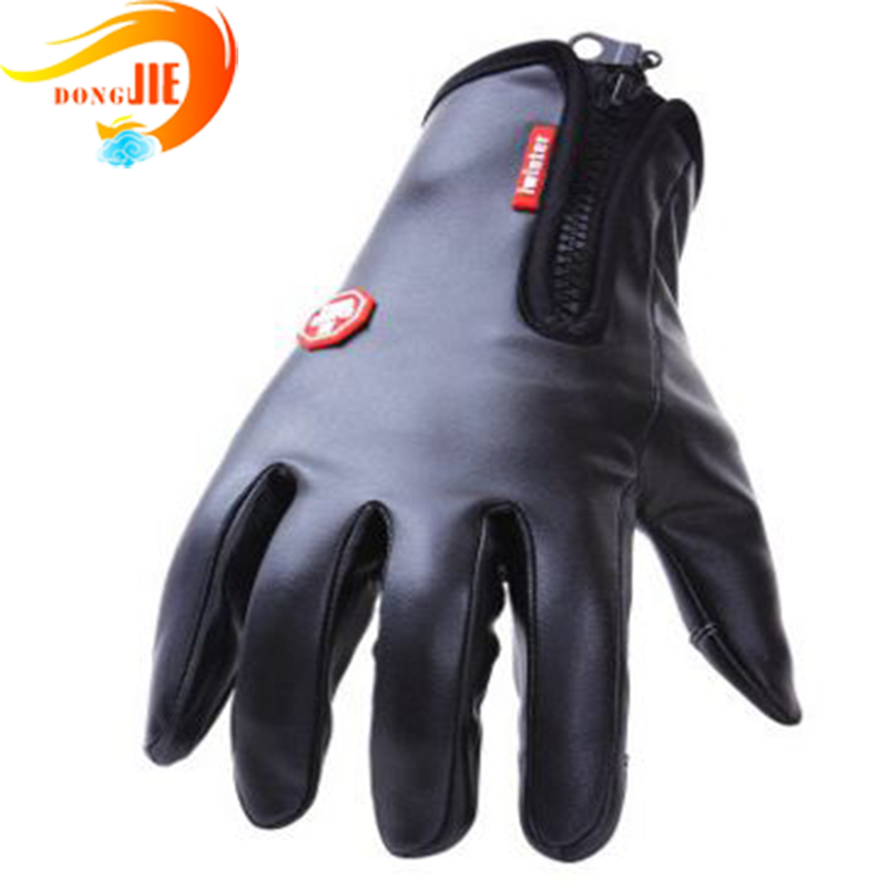 waterproof leather gloves With free sample service