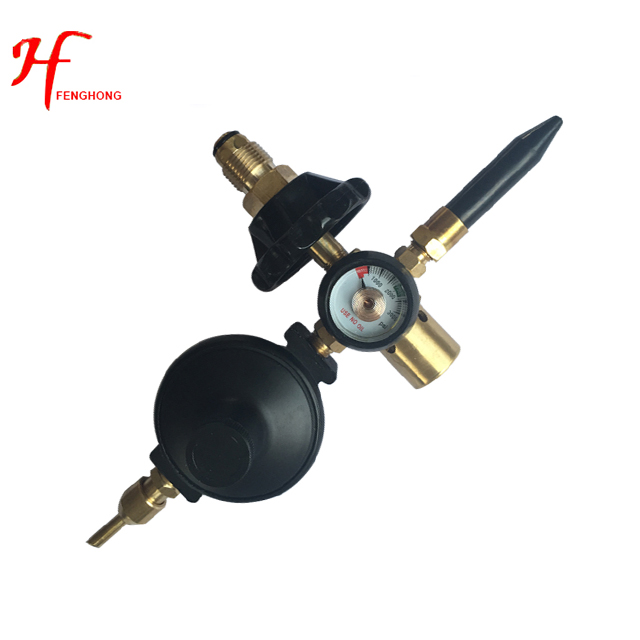 Best supplier Small-sized mini CO2 Argon gas pressure regulator with meter