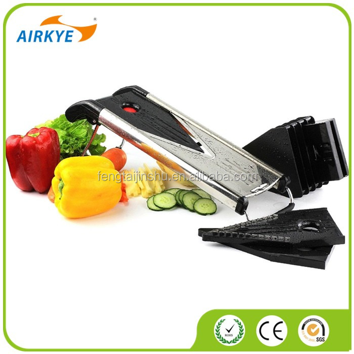 2017 The New Kitchen Stainless Steel V Blade Mandoline Slicer