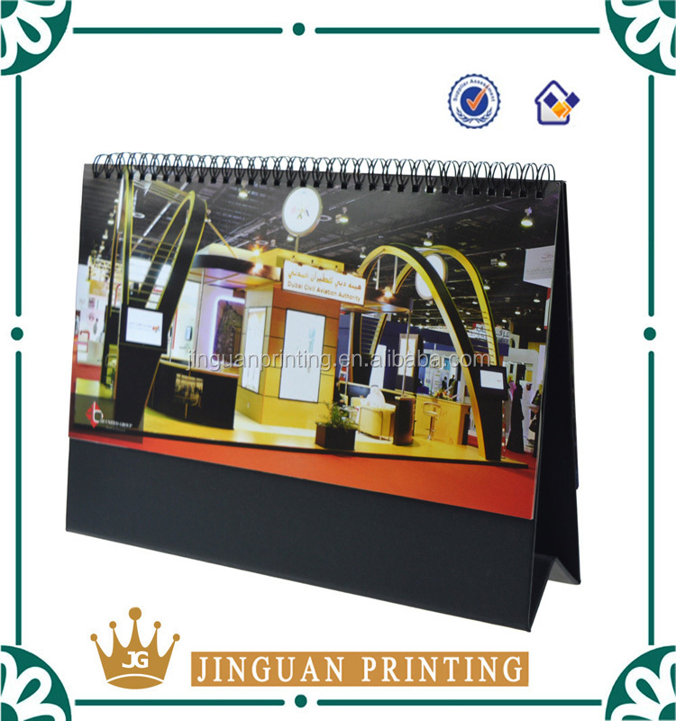 Custom Cardboard 2016 Table Calendar/desk Calendar In China