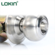 New products 2018 hot sale north american bathroom cylindrical door knob lock