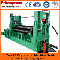 Prima W11S rolling machine plate bending rolls universal type metal sheet roller for sale