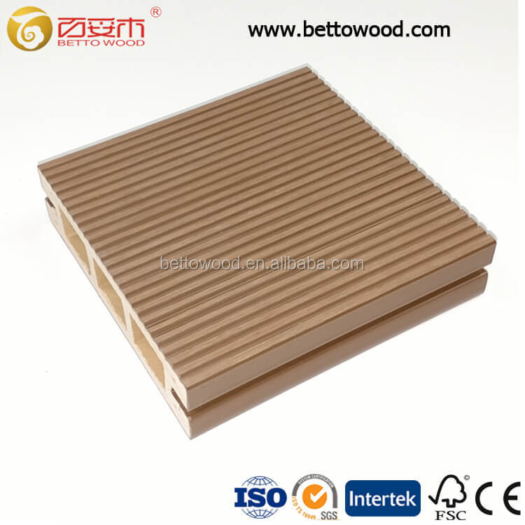 China Hoge Kwaliteit Anti-Uv Hout Kunststof Composiet Planken Profielen Outdoor Holle WPC