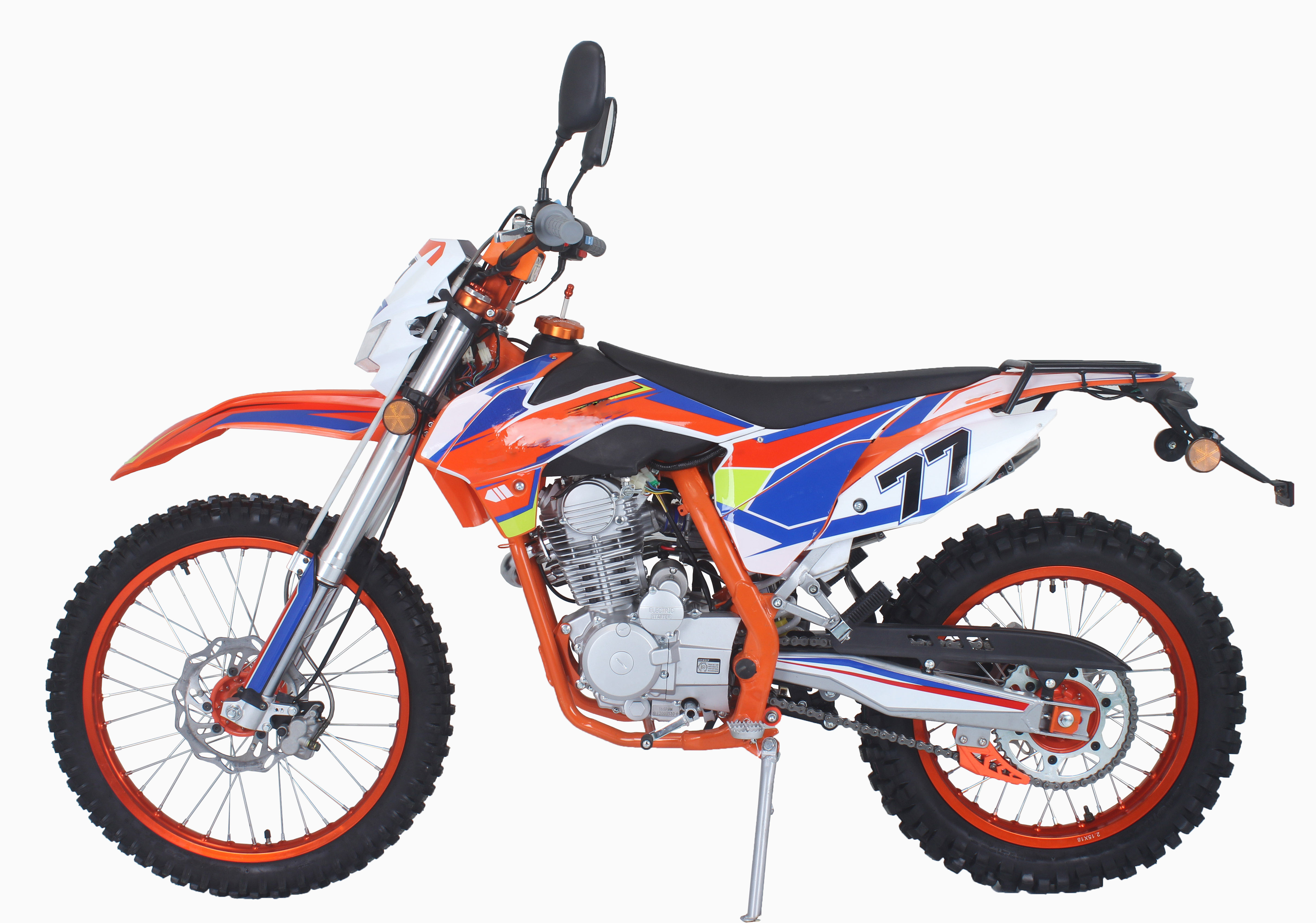 2018 New on road 250cc dirt bike