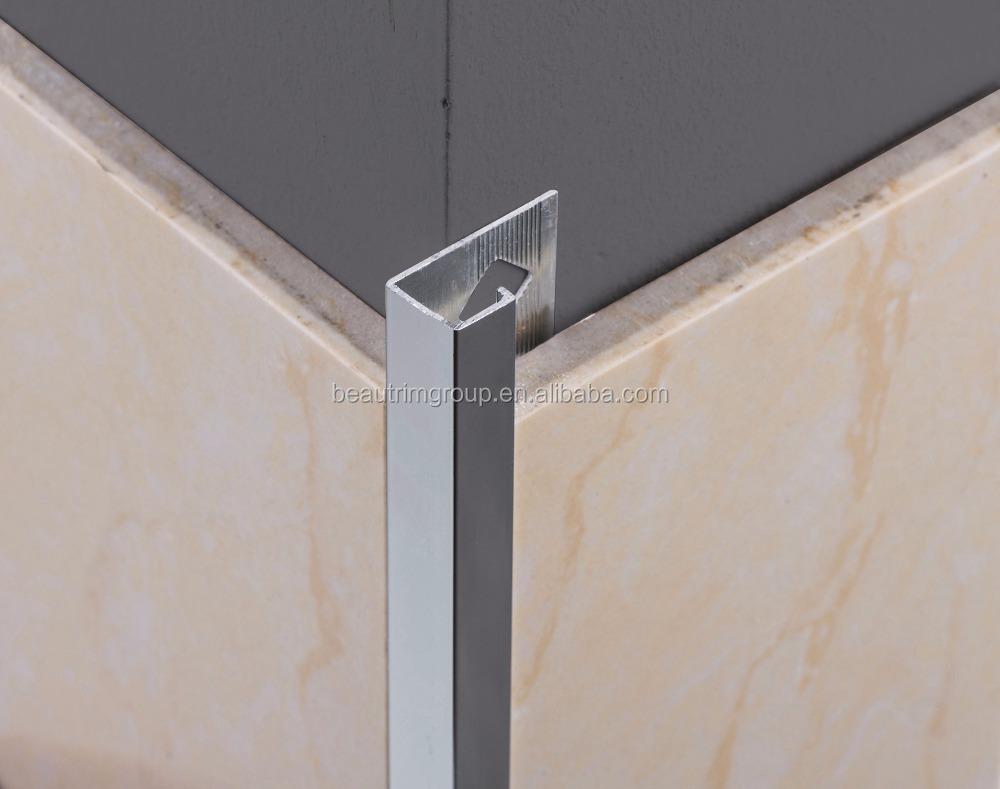 Bronze Flexible Metal Tile Edge Trim