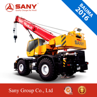 SANY Bauma 2016 SRC550 50 Ton New Truck Crane china Rough Terrain Crane