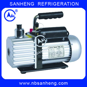 Dual Stage Rotary Vane Vacuum Pump For Refrigerating System
