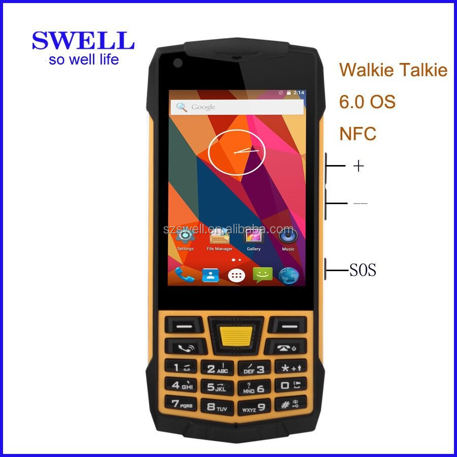 Camera Android Non Phone unlocked verizon ip68 swell n2 3g 2g walkie talkie non camera android 6 0 rugged intrinsically safe