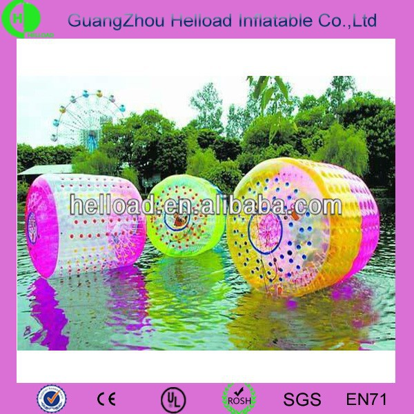 Customized printing Inflatable Water/beach/pool Walking Ball Roller