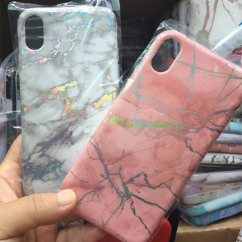 Custom IMD Printing Marble Phone Case ,full both sides printing cover