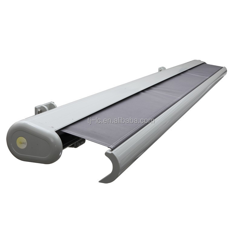 2.2m*1.5m- Retractable Full Cassette Folding arm Awning with LED lights