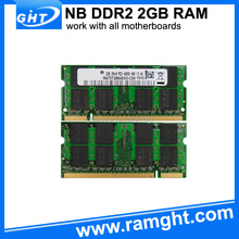 Laptop motherboard cheap price ddr2 mobile phone 2gb ram