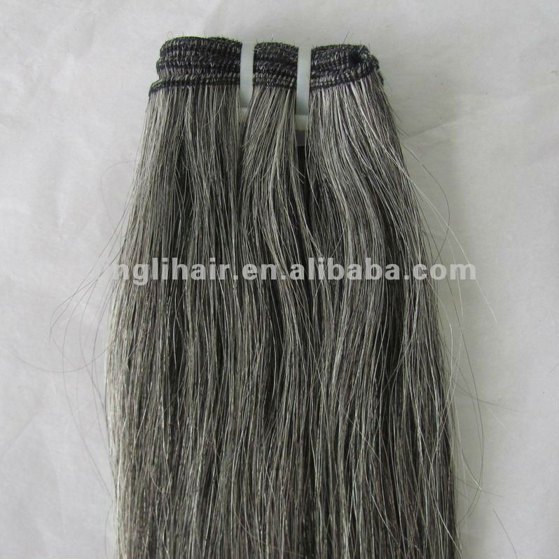 2014 100 Human Hair Extensions Gray Remy Hair Weave Buy Gray Hair