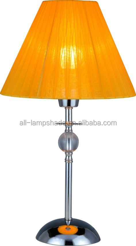 Cool & Romantic Table Lamp Special Design Orange Voile Lamp Shade